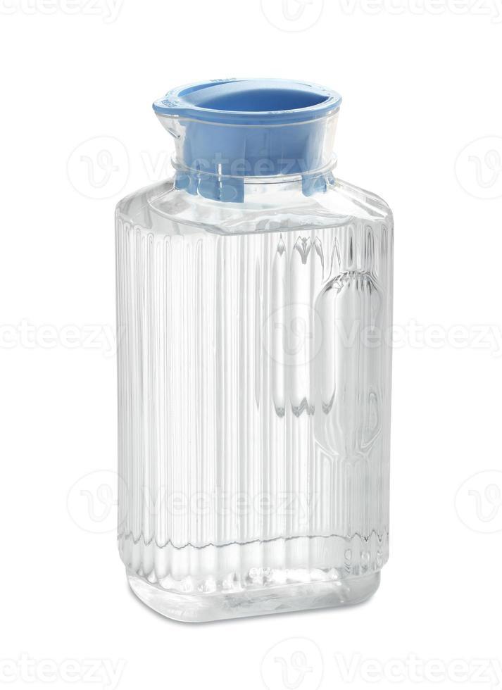 brocca di acqua potabile foto
