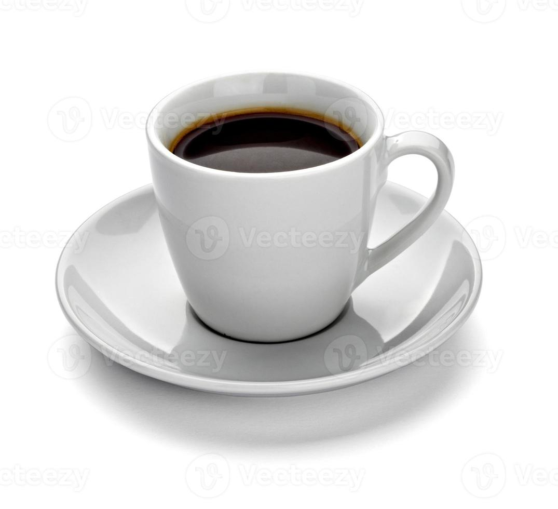 bere una tazza di caffè foto