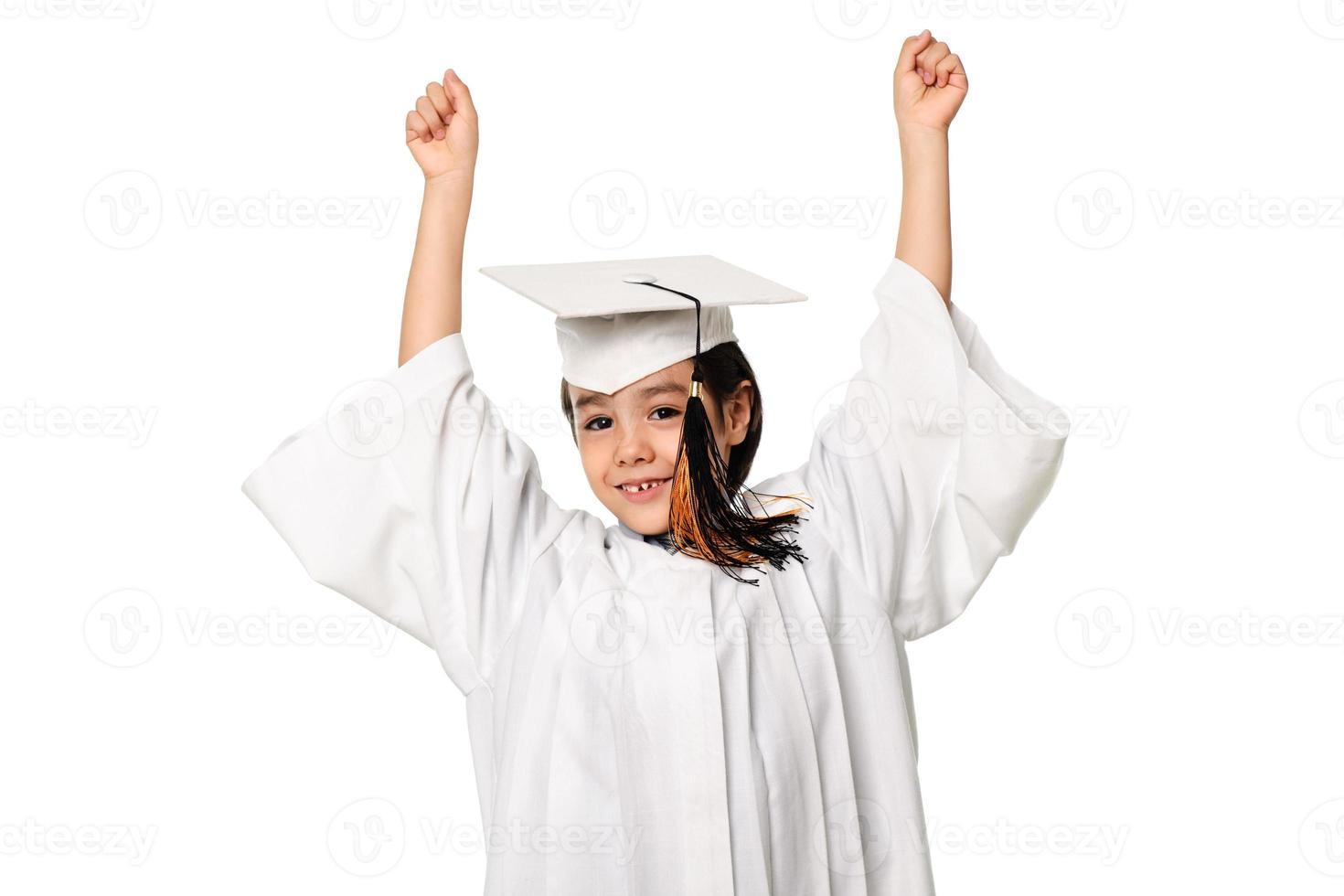 piccolo tifo laureato foto