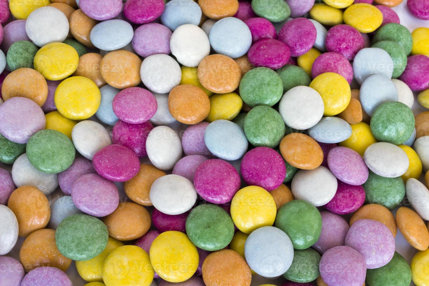 cioccolato colorato foto