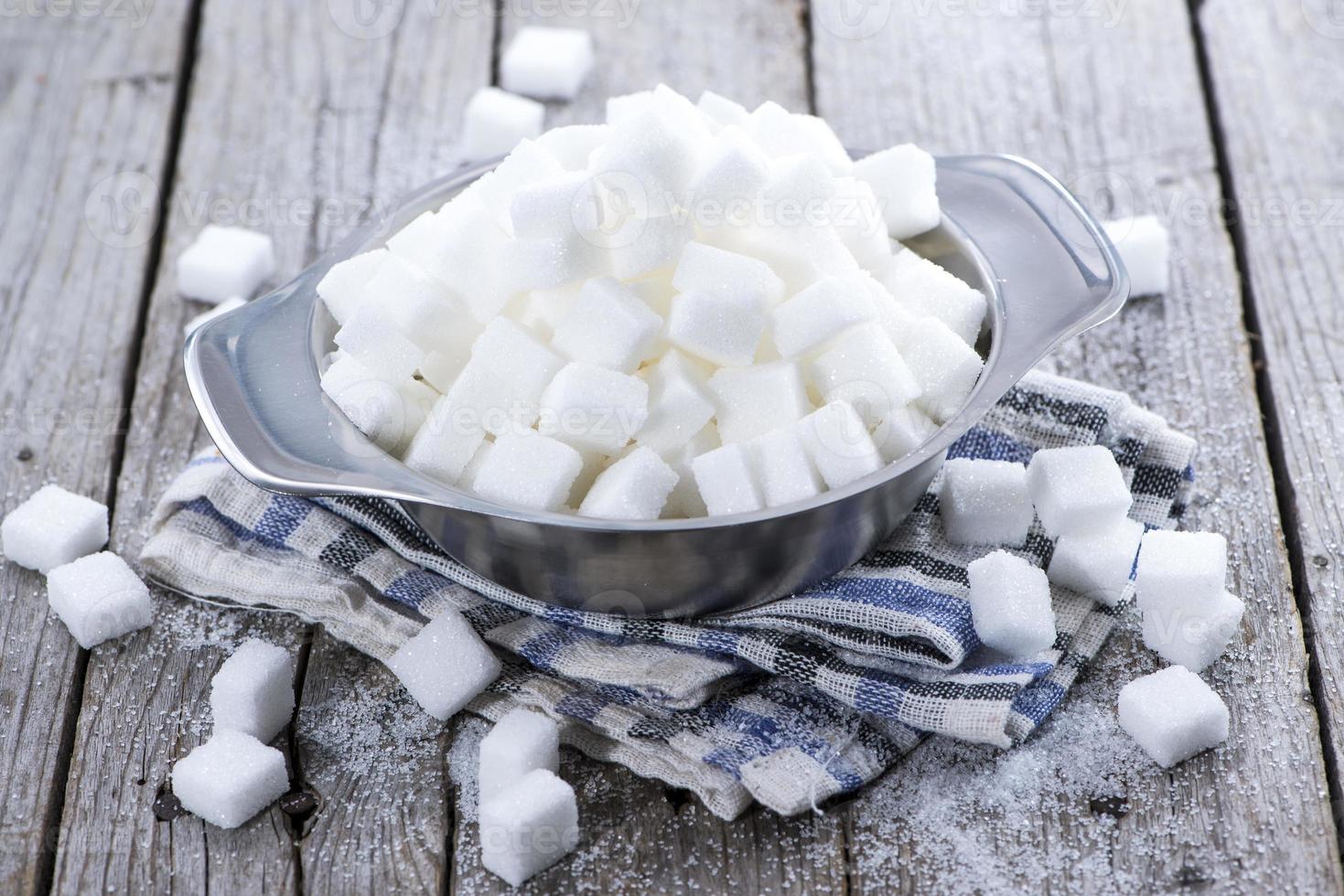 zucchero bianco foto