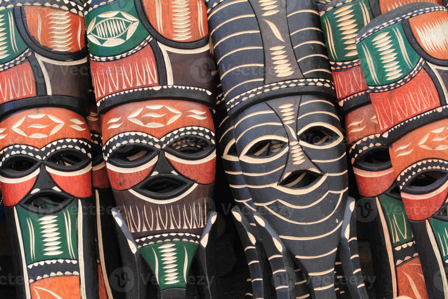 Afrikanische Masken foto