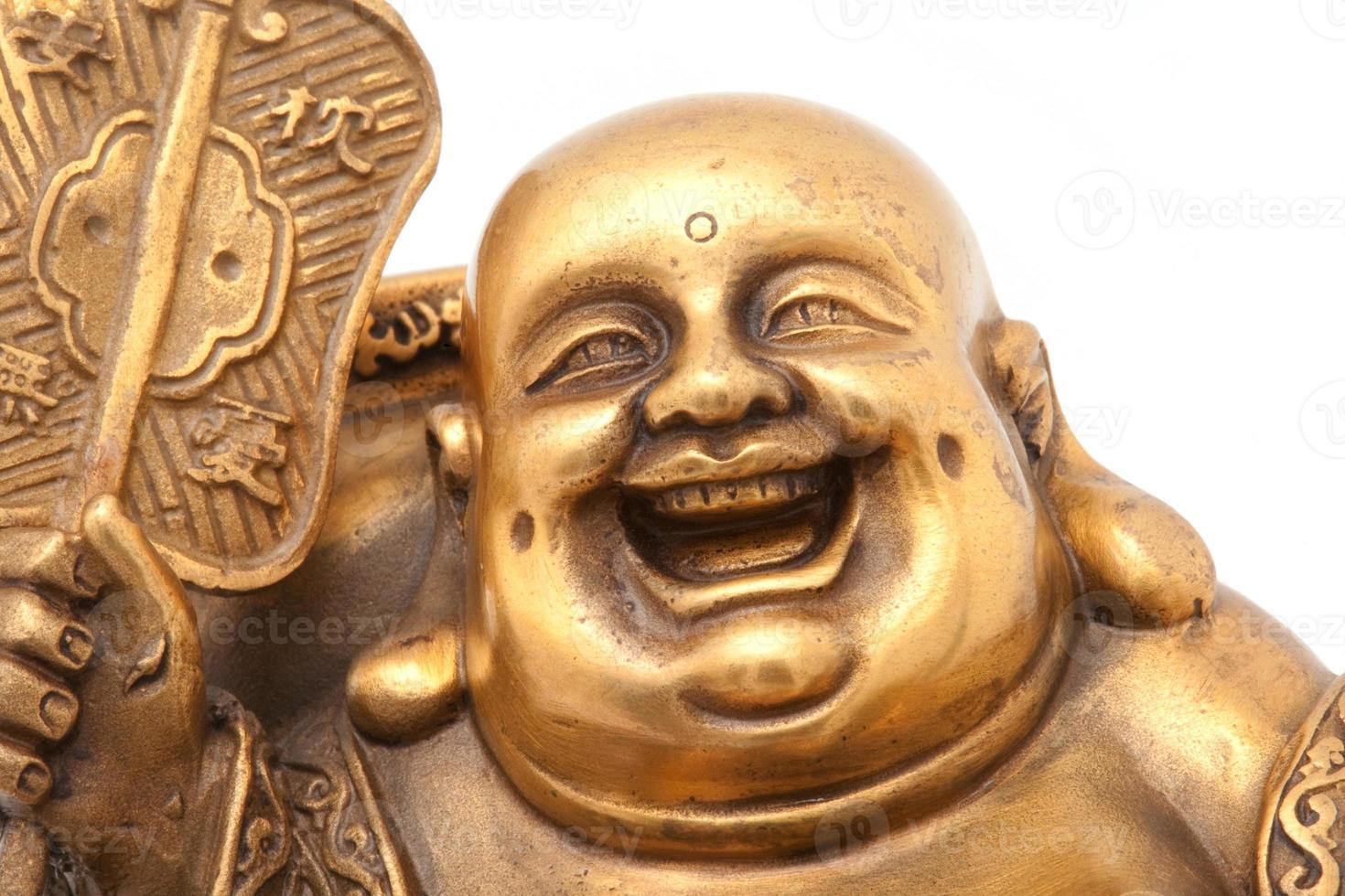 allegro hotei d'oro. dio cinese della ricchezza. foto