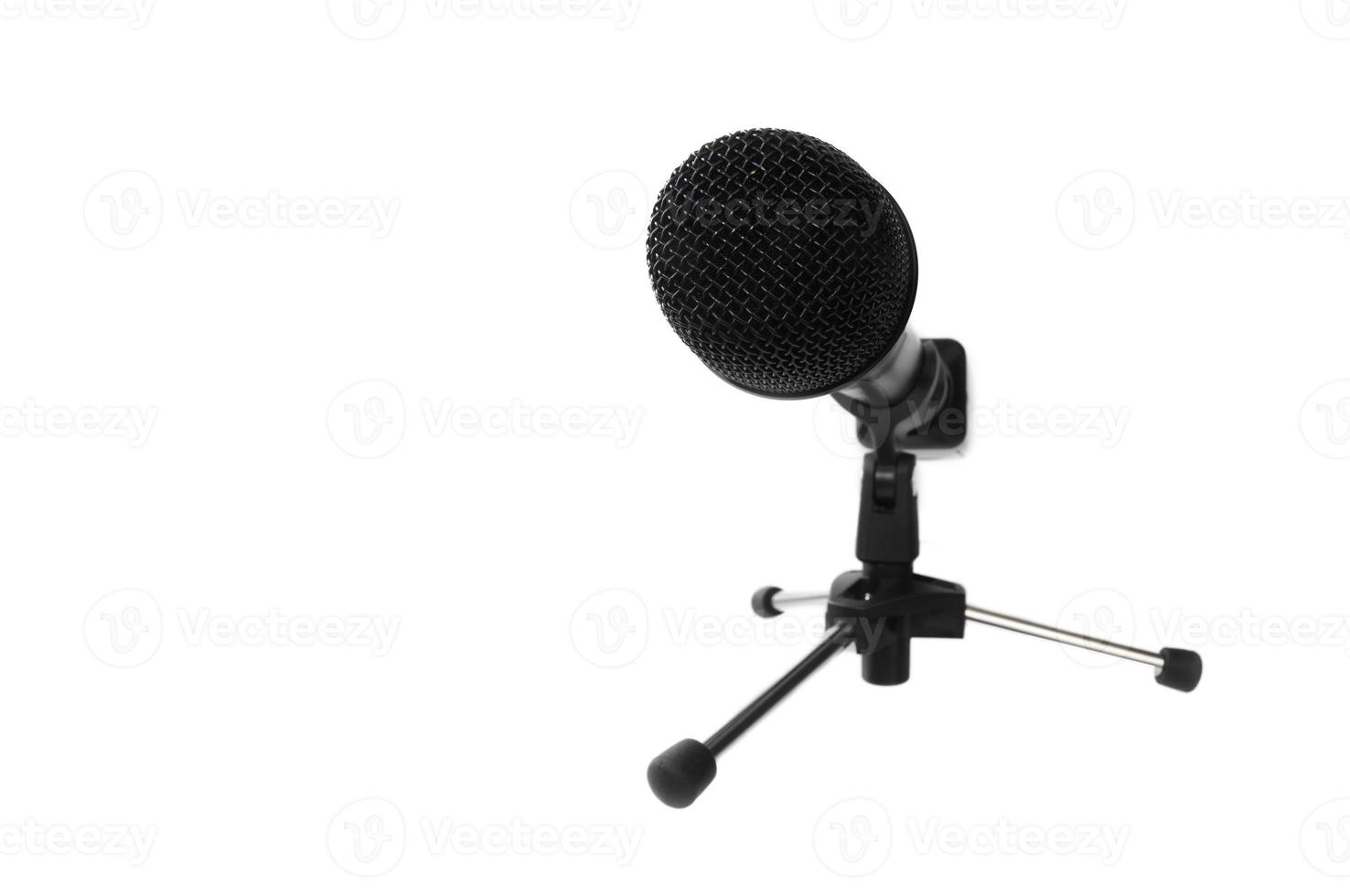 microfono (con spazio di copia) foto