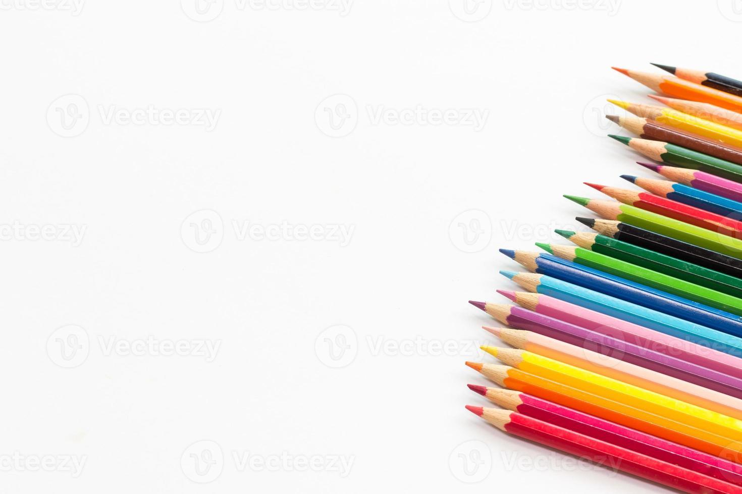 matita colorata con spazio di copia foto