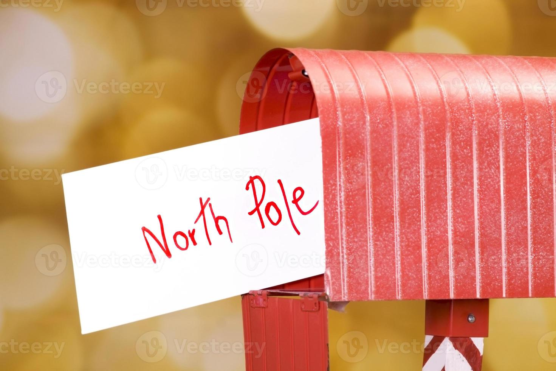 lettera al polo nord foto
