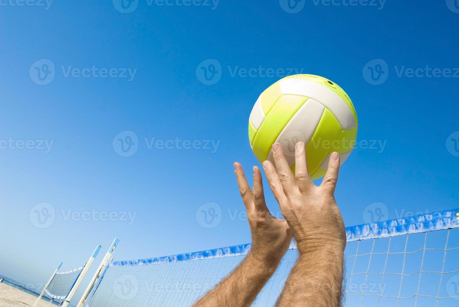 giocatore di pallavolo foto