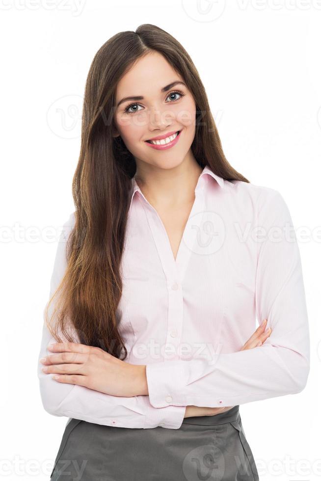 giovane donna attraente foto