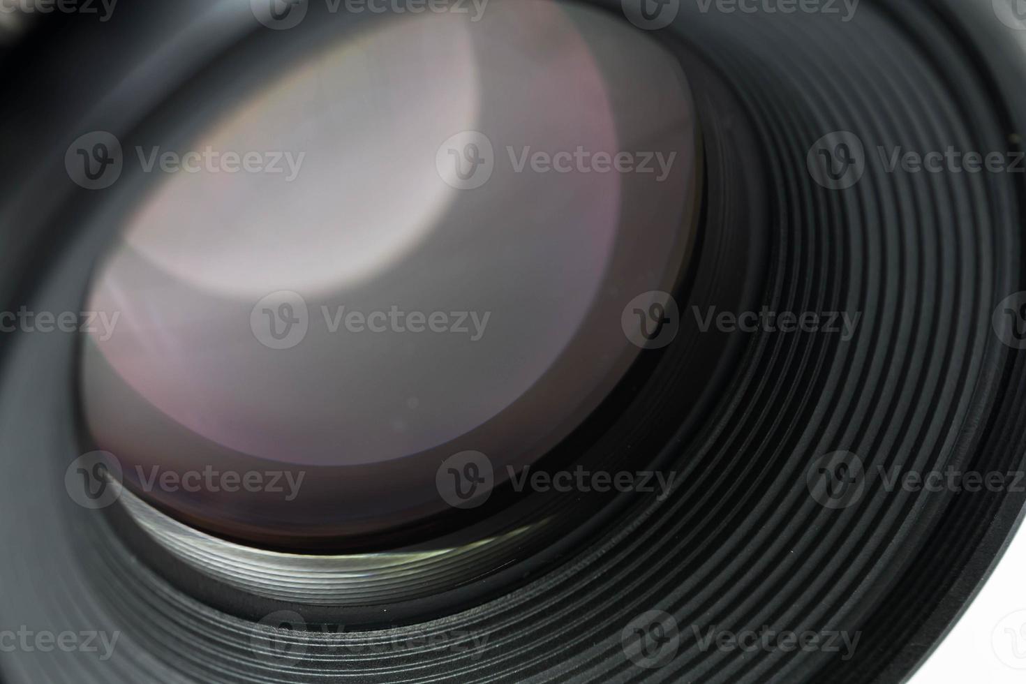 primo piano dell'obiettivo foto