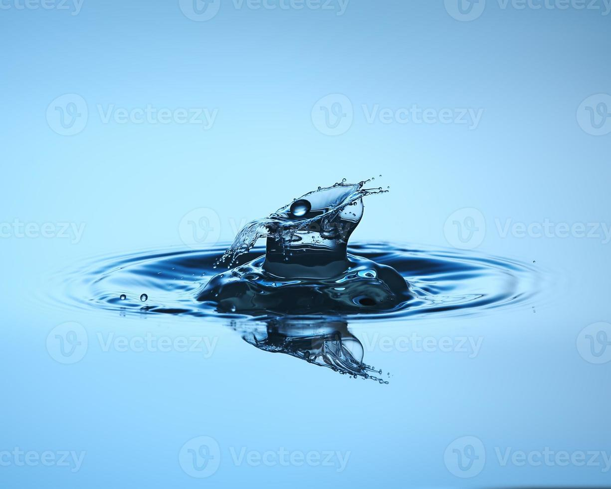 goccia d'acqua da vicino foto