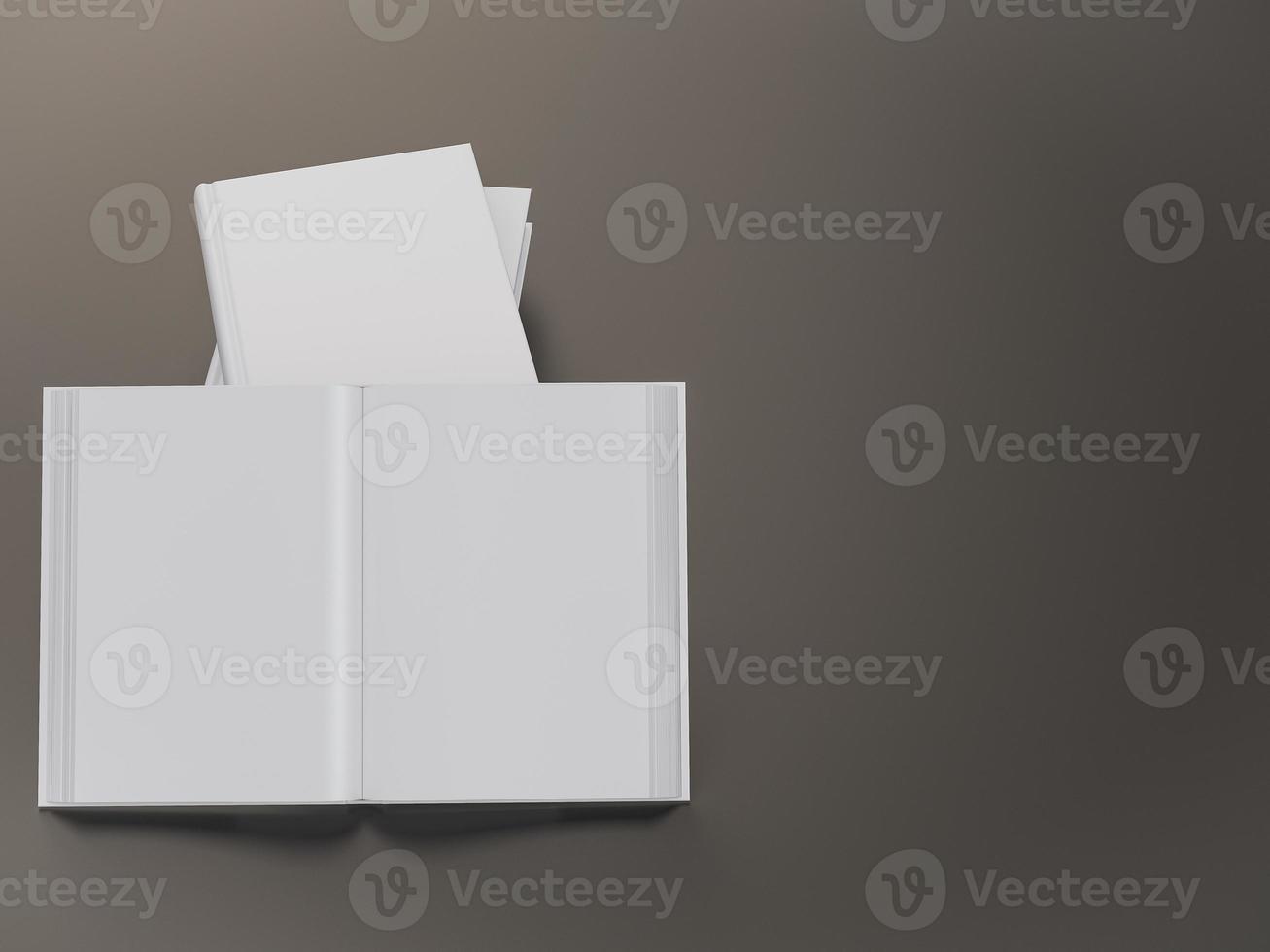 modello di mockup libro vuoto foto