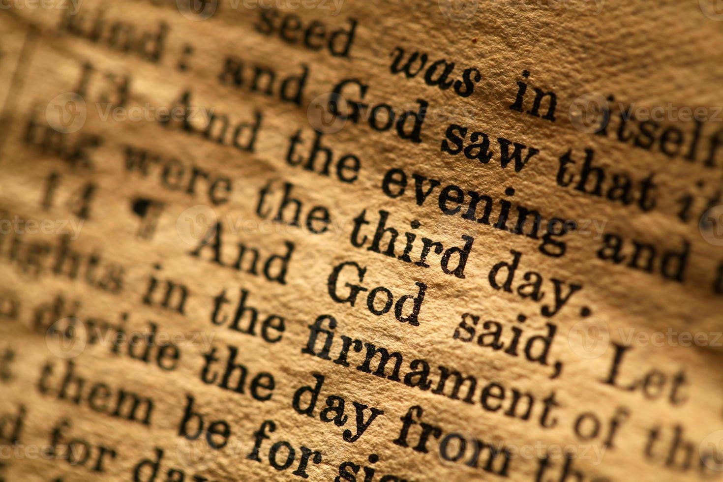 Sacra Bibbia foto
