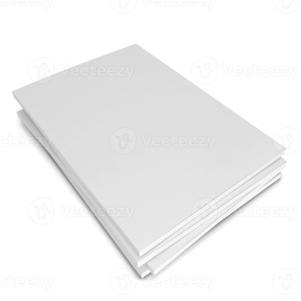 riviste in bianco foto