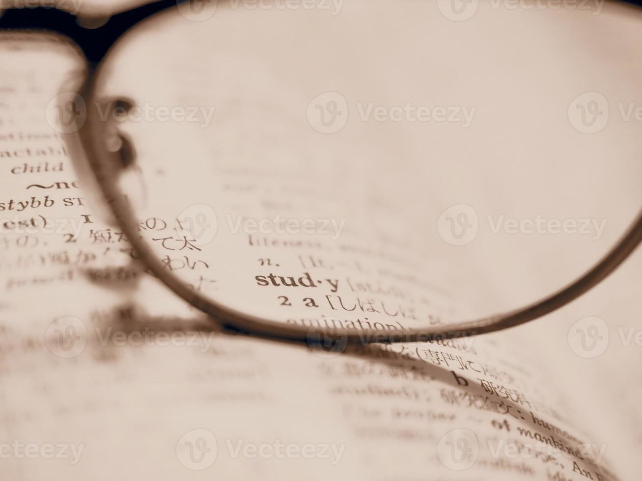 studiando inglese foto