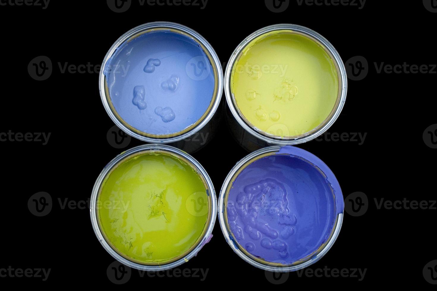 lattine di colori foto