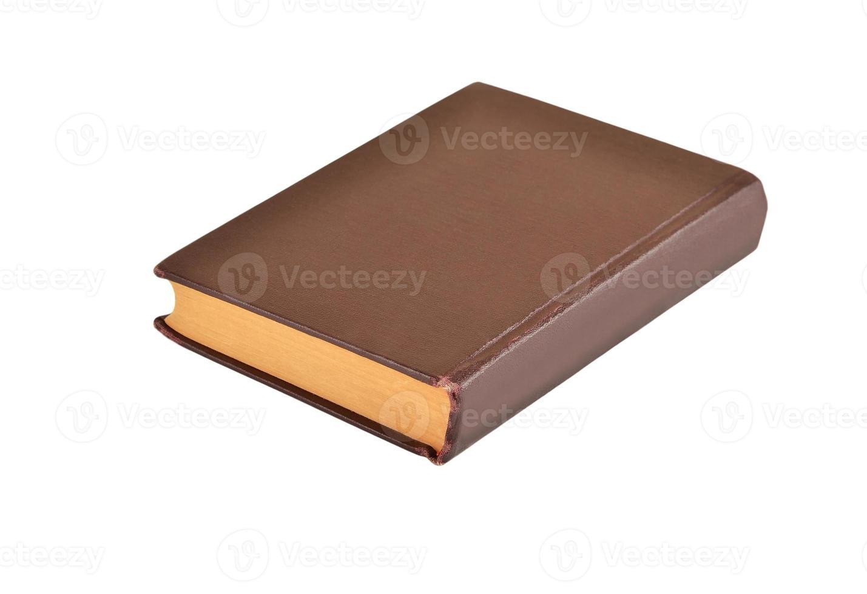 vecchio libro a copertina rigida foto