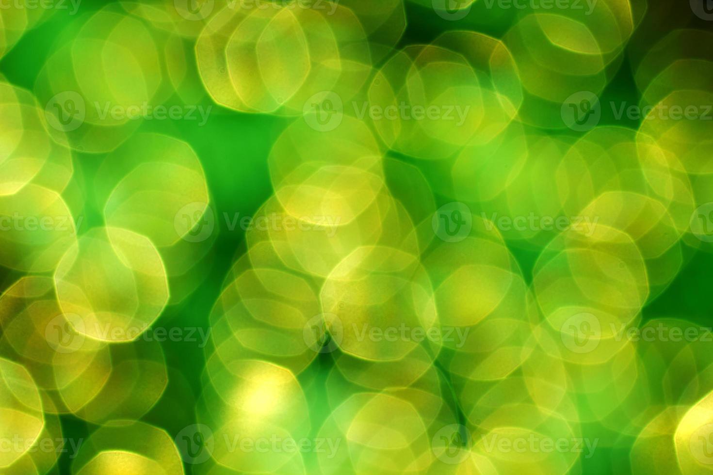 luci di sfondo illuminate verde foto
