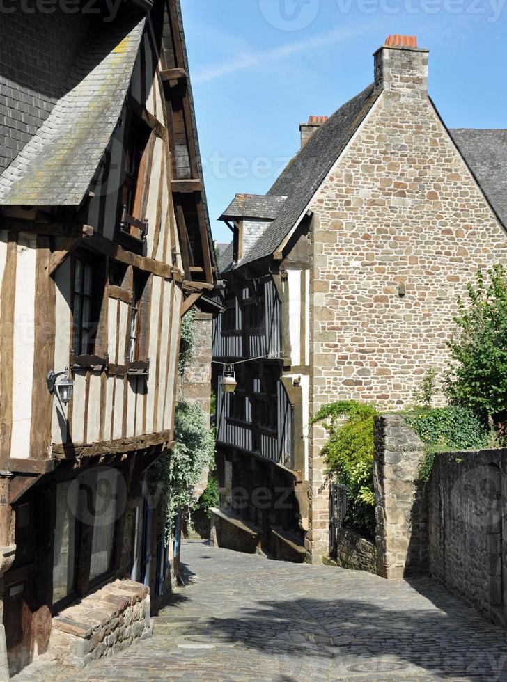 via medievale a dinan foto
