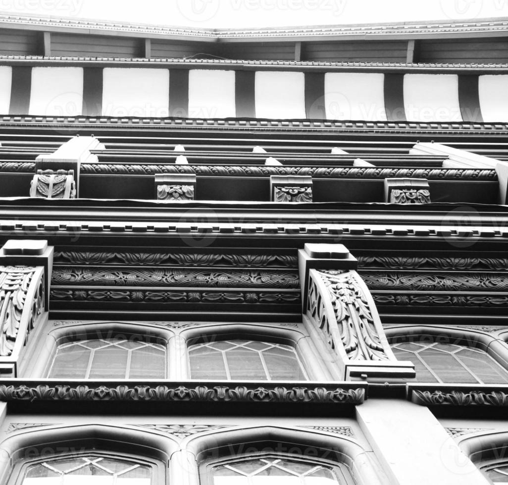 architettura tudor chester timber foto