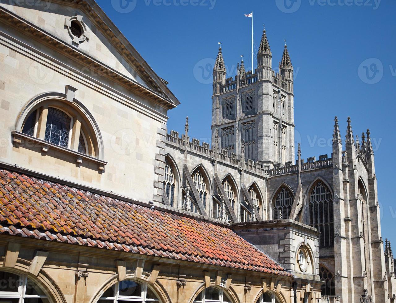 Abbazia di Bath, Somerset, Inghilterra foto