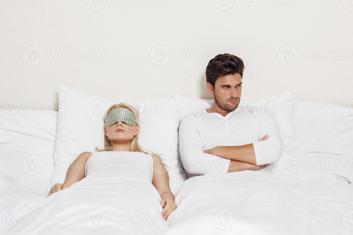 nella camera da letto foto