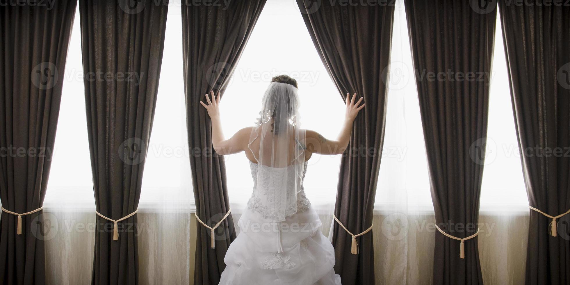 panorama della sposa foto