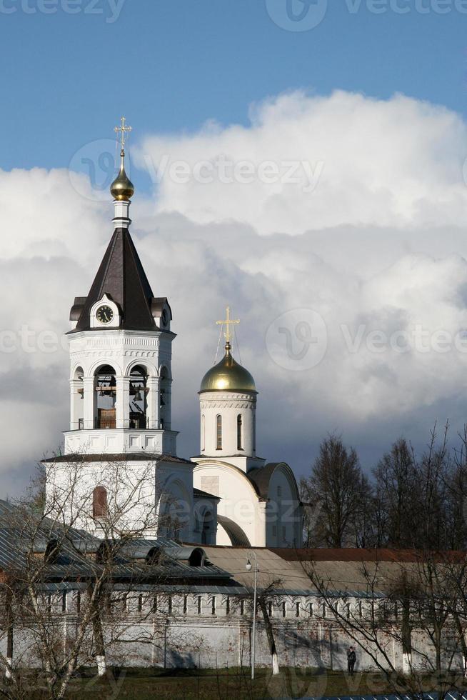 monastero maschile bogoroditse-rozhdestvensky, vladimir, russia foto