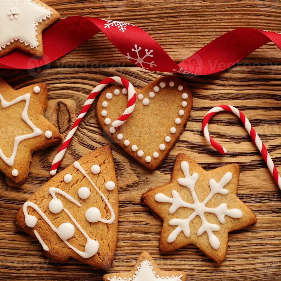 Pan di zenzero di Natale foto