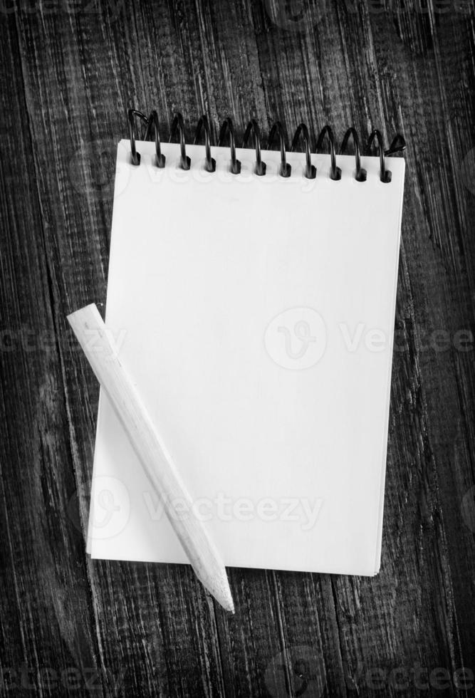nota e matita foto