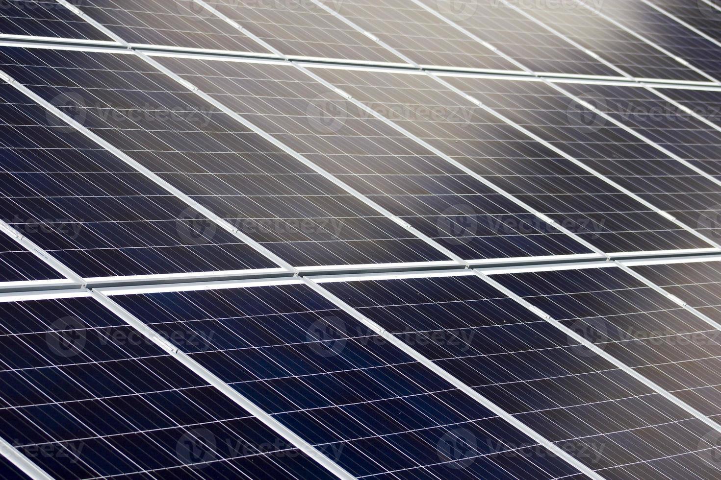 pannelli solari blu foto