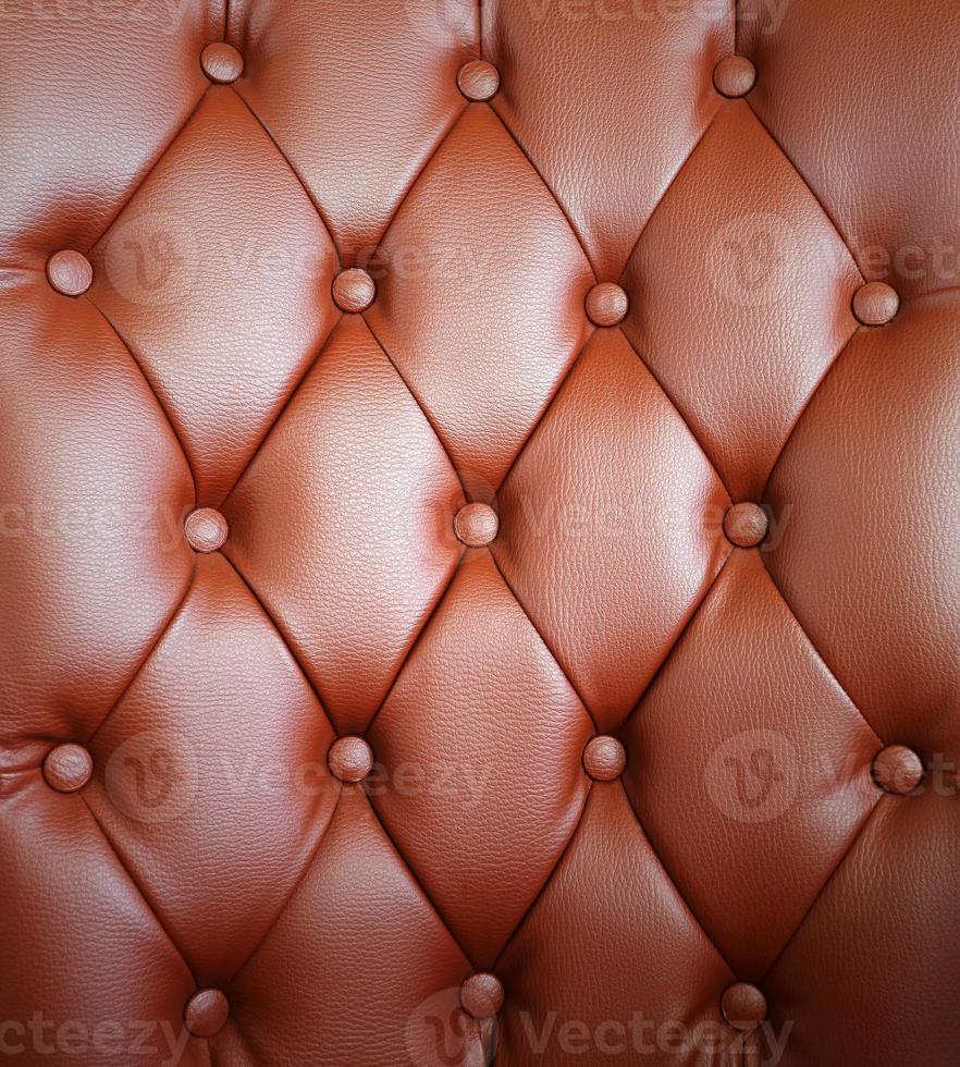 sfondo marrone tappezzeria in pelle foto