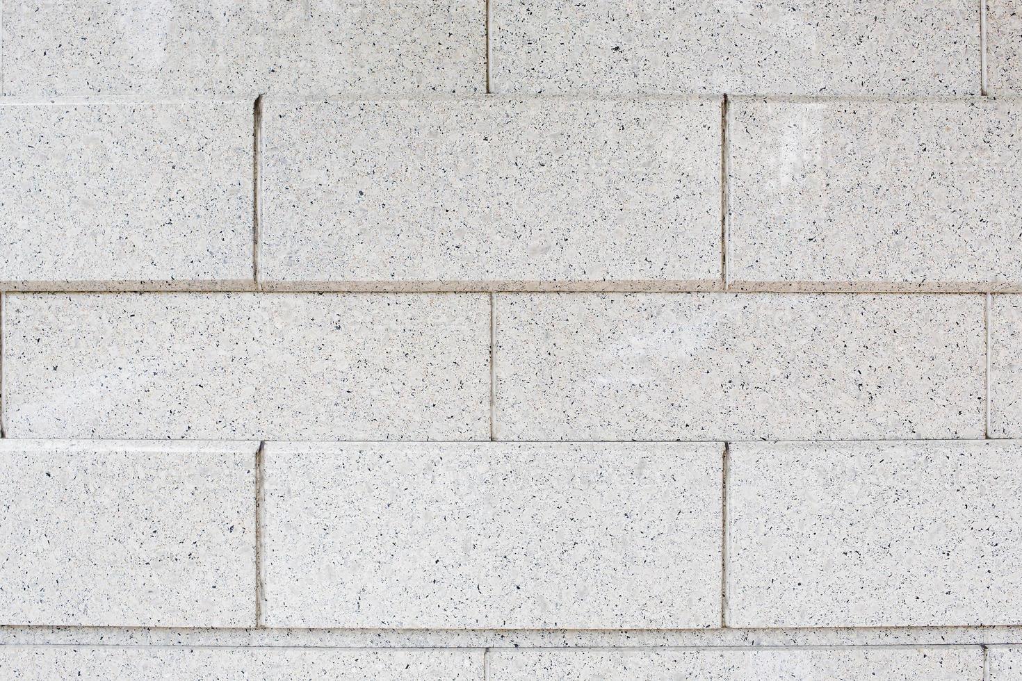 muro di mattoni bianchi. modello senza soluzione di continuità. foto