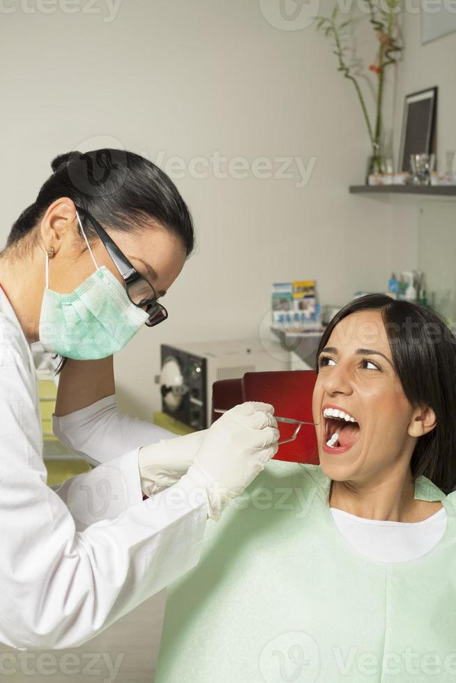 paziente arrabbiato foto