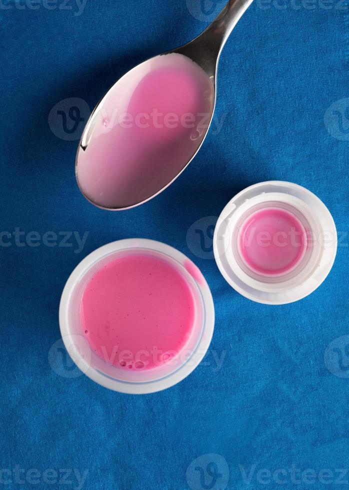 medicina dello stomaco rosa foto