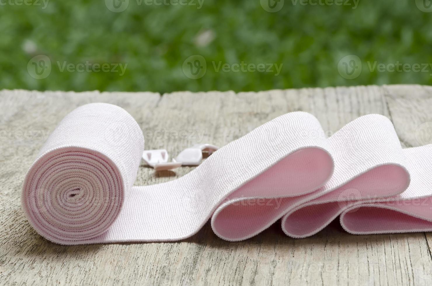 bendaggio elastico foto