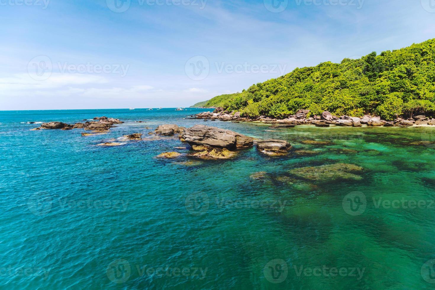 mare dell'isola della giungla foto