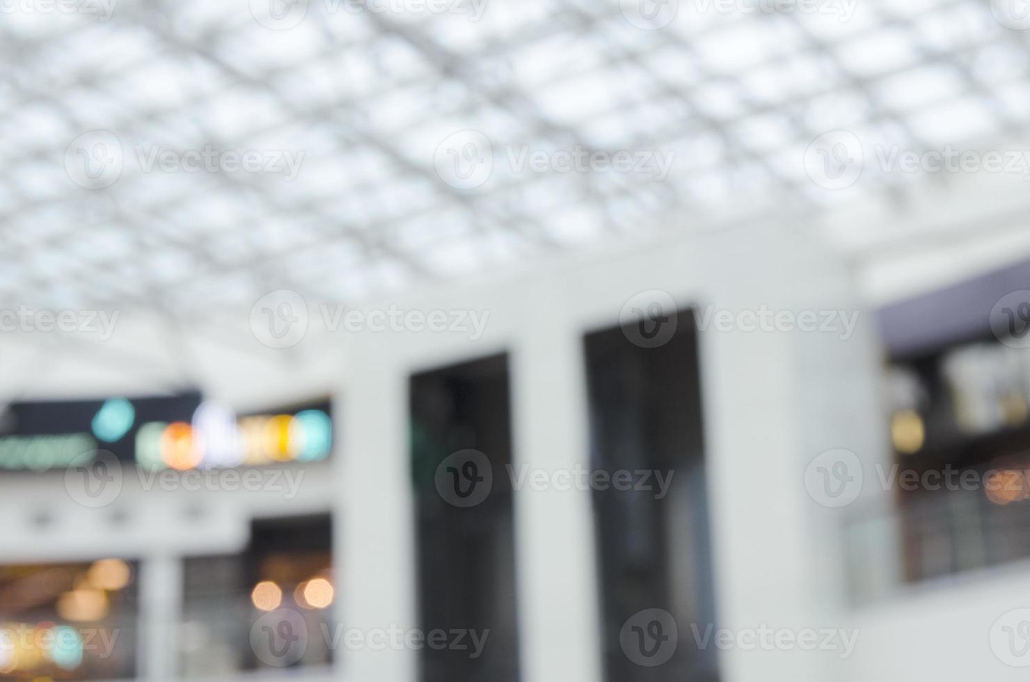 fondo defocused del soffitto della hall aziendale - immagine di riserva foto