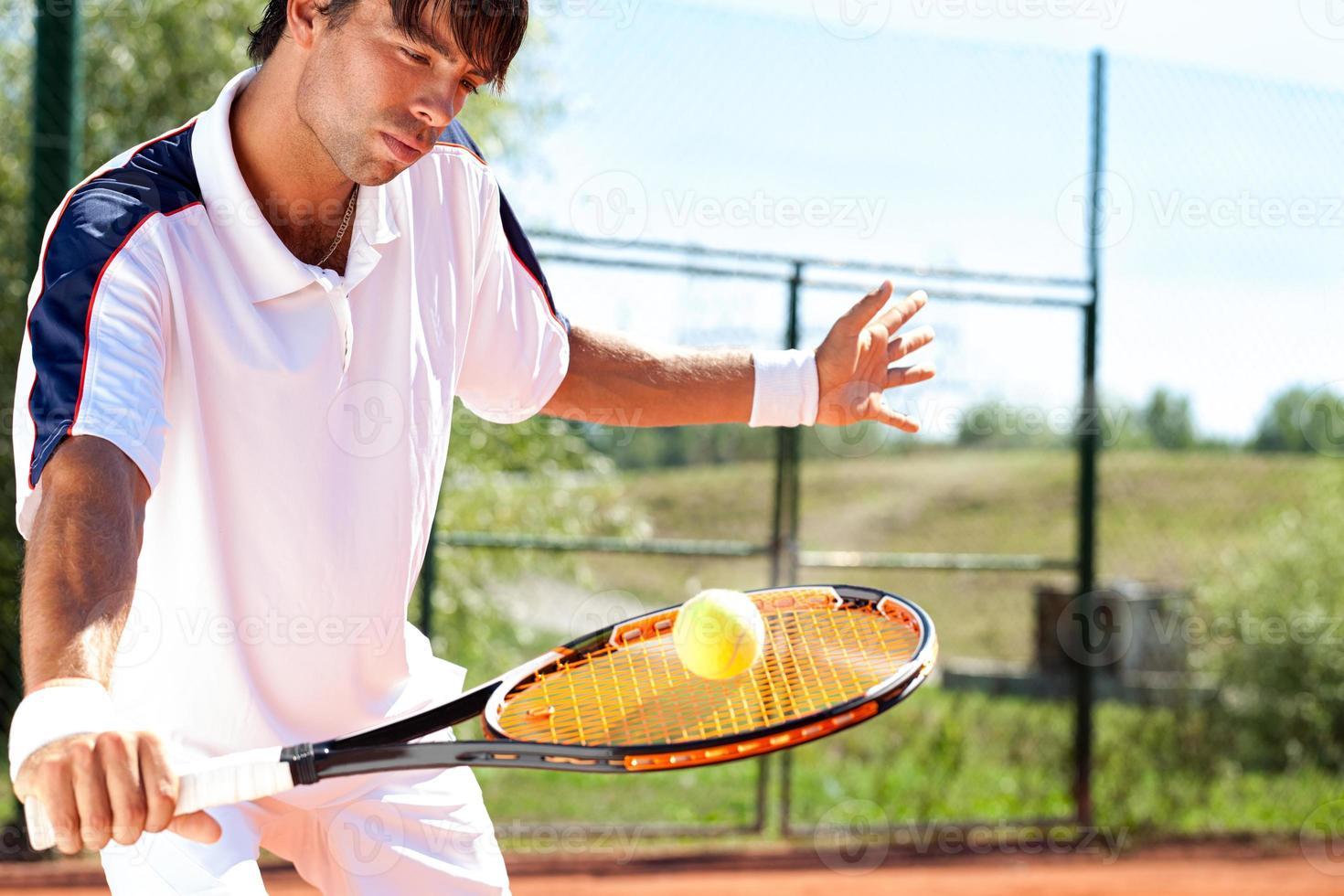 giocatore di tennis foto