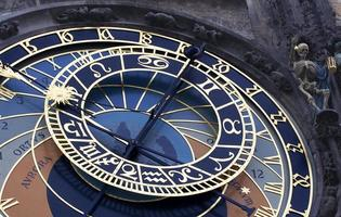 orologio astronomico praga foto