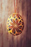 uovo di Pasqua vintage pisanka