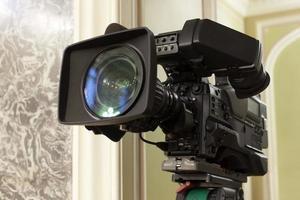 videocamera digitale professionale.