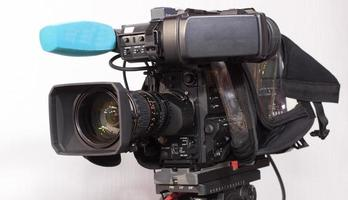 videocamera digitale professionale. foto