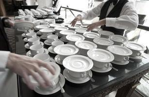 tazze di caffè foto