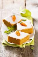 torta di carote di Pasqua foto