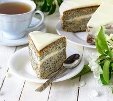 torta di papaveri foto