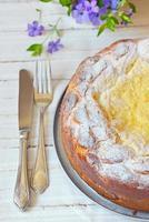torta di formaggio dolce foto