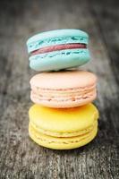 amaretti colorati francesi foto