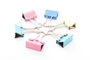 clip leganti multicolori