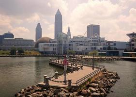 Cleveland dal lago Erie foto