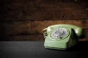 vecchio telefono foto